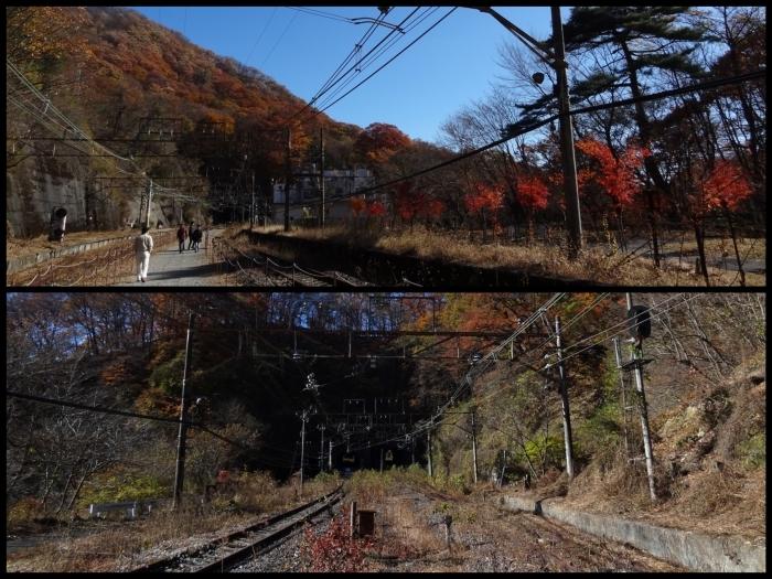 紅葉狩り2017年 ② 熊ノ平駅&軽井沢_b0290816_20135045.jpg