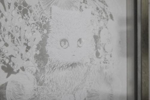 Aya Uotani 切り絵展 2017@3日目_e0272050_16094644.jpg