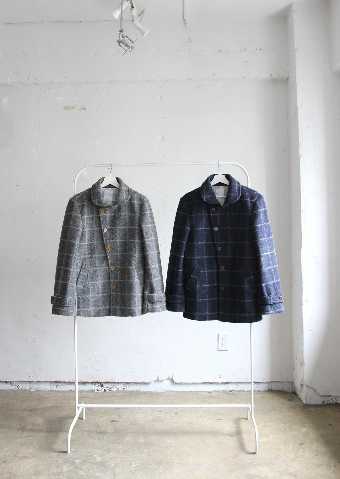 Milling Wool Knit P-coat_c0379477_18091044.jpg