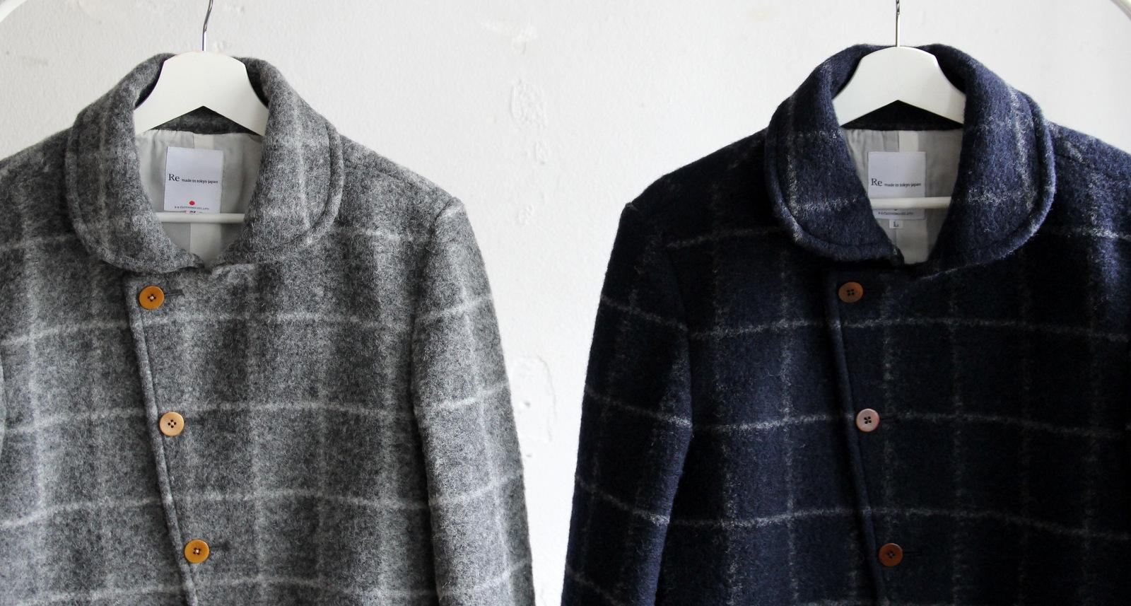 Milling Wool Knit P-coat_c0379477_18110949.jpg
