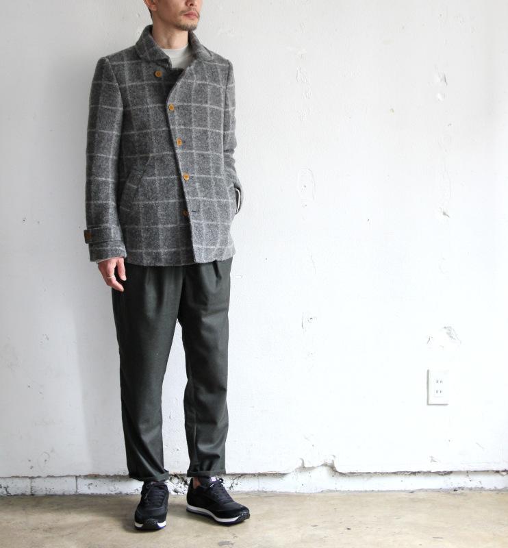 Milling Wool Knit P-coat_c0379477_18120729.jpg
