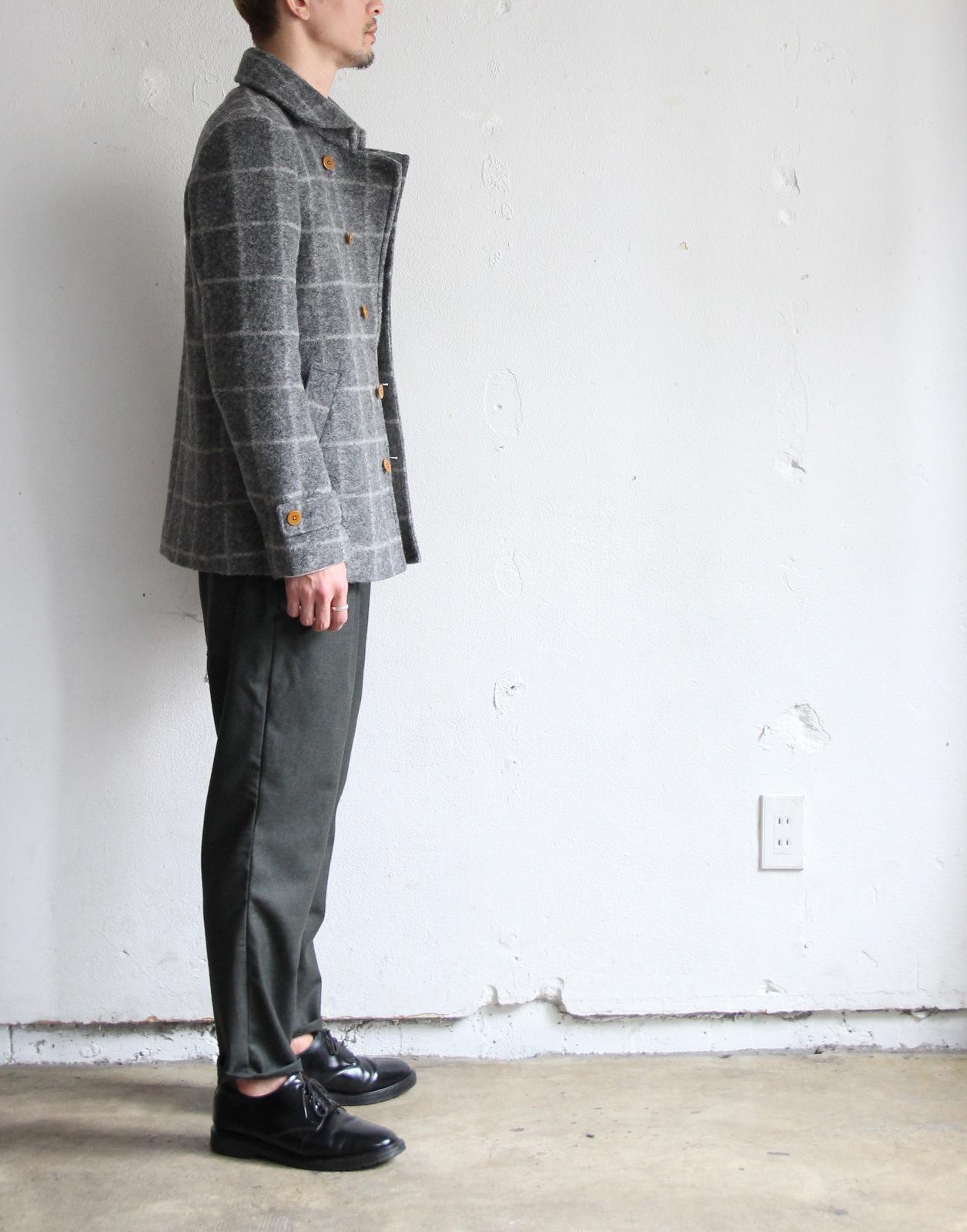 Milling Wool Knit P-coat_c0379477_18122049.jpg