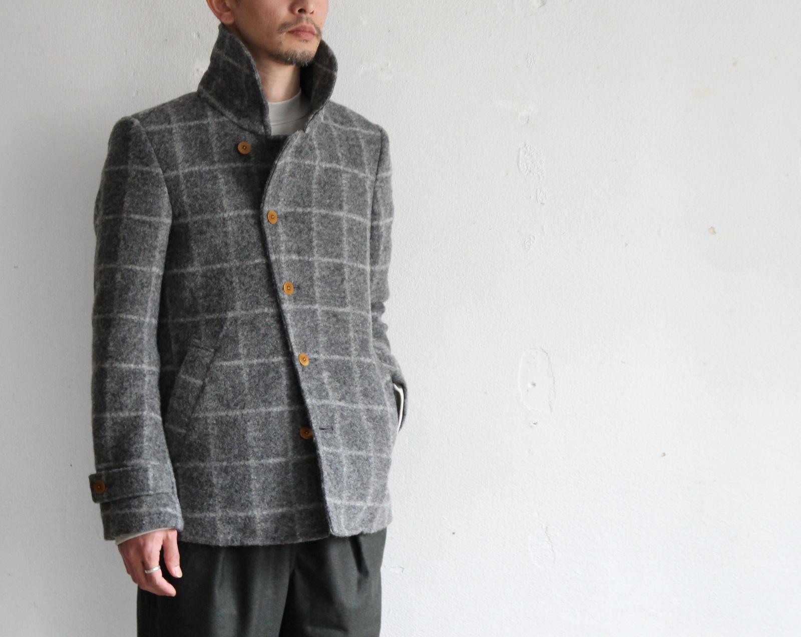 Milling Wool Knit P-coat_c0379477_18124249.jpg