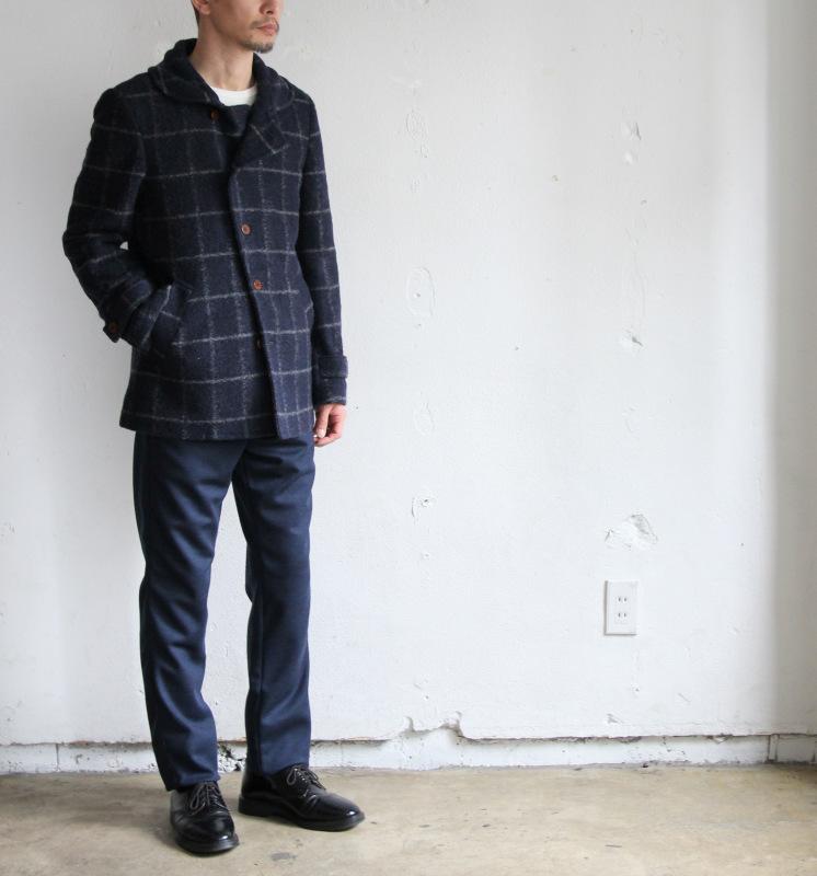 Milling Wool Knit P-coat_c0379477_18315204.jpg