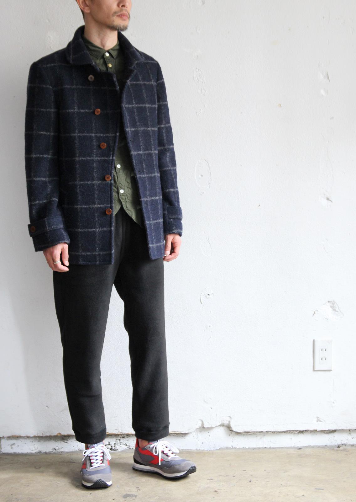 Milling Wool Knit P-coat_c0379477_18320565.jpg