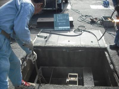 ゴルフ場クラブハウス 浄化槽機器修繕工事の様子H29.10.30_d0338682_13424892.jpg
