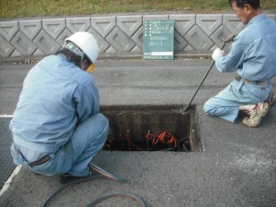 ゴルフ場クラブハウス 浄化槽機器修繕工事の様子H29.10.30_d0338682_13431352.jpg