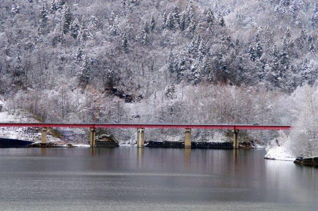 2017年11月16日(木)  雪景色を訪ねて(定山渓温泉周辺)_a0345007_1014444.jpg