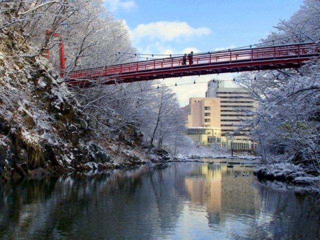 2017年11月16日(木)  雪景色を訪ねて(定山渓温泉周辺)_a0345007_1083611.jpg