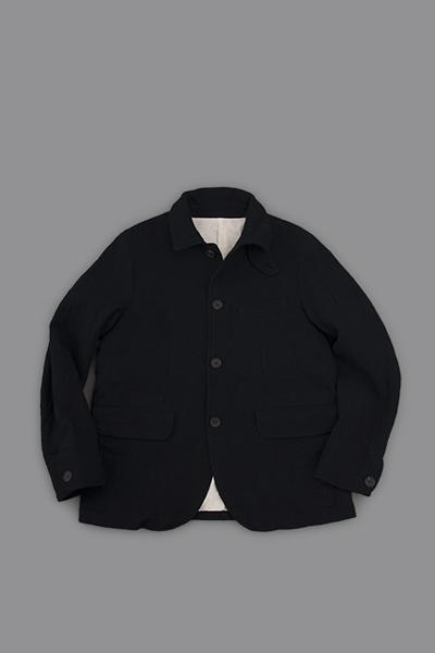 RINEN  2/48 Wool Coverall JK (Navy)_d0120442_12154034.png