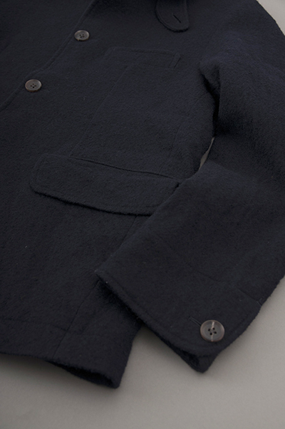 RINEN  2/48 Wool Coverall JK (Navy)_d0120442_12155412.jpg