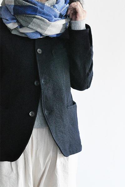 RINEN  2/48 Wool Coverall JK (Navy)_d0120442_12194665.jpg