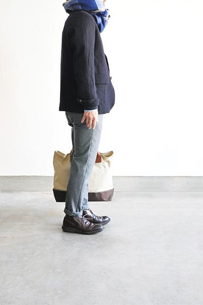 RINEN  2/48 Wool Coverall JK (Navy)_d0120442_12212493.jpg
