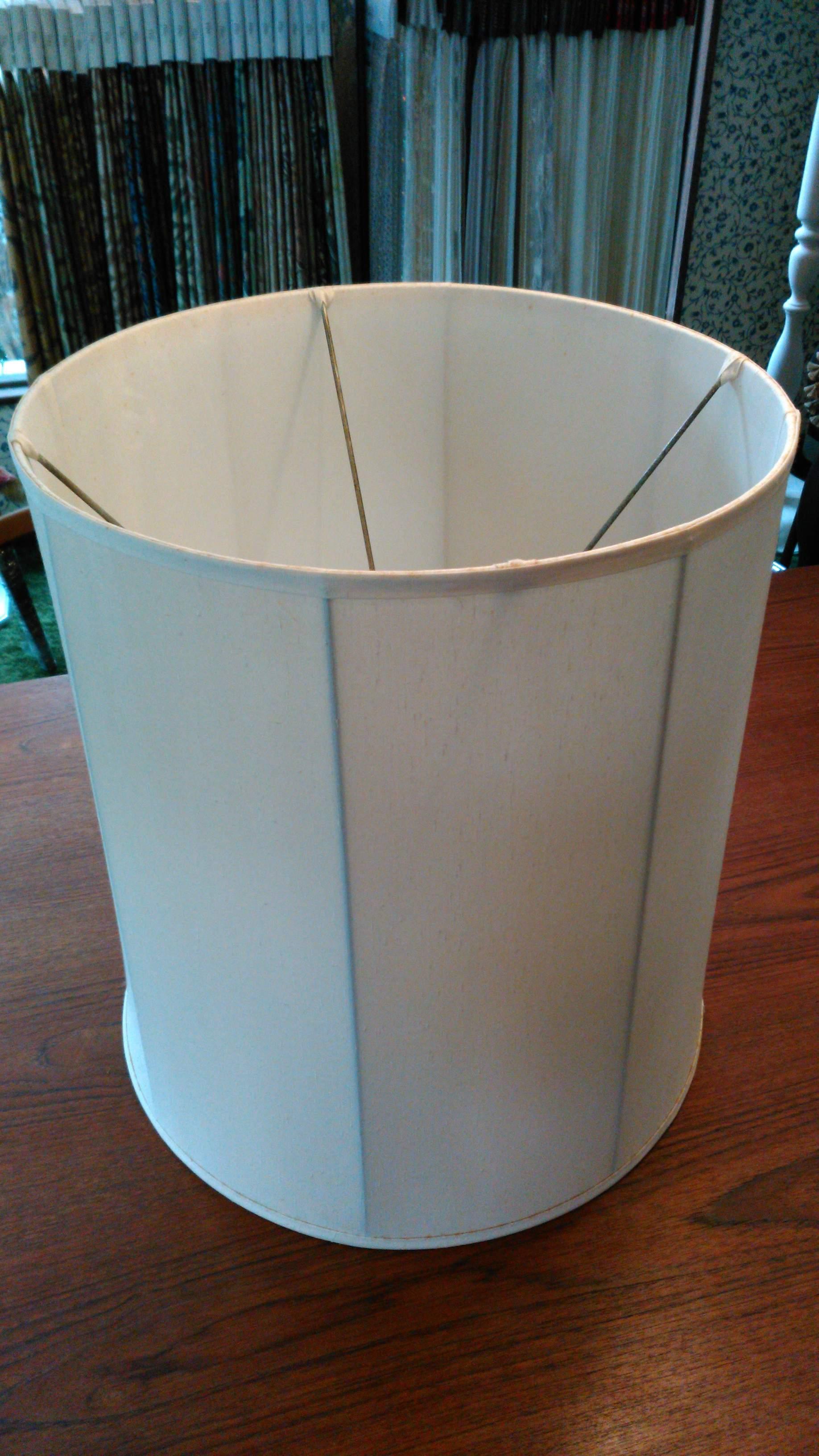 ドラム型のランプシェード張り替え_c0157866_12491650.jpg