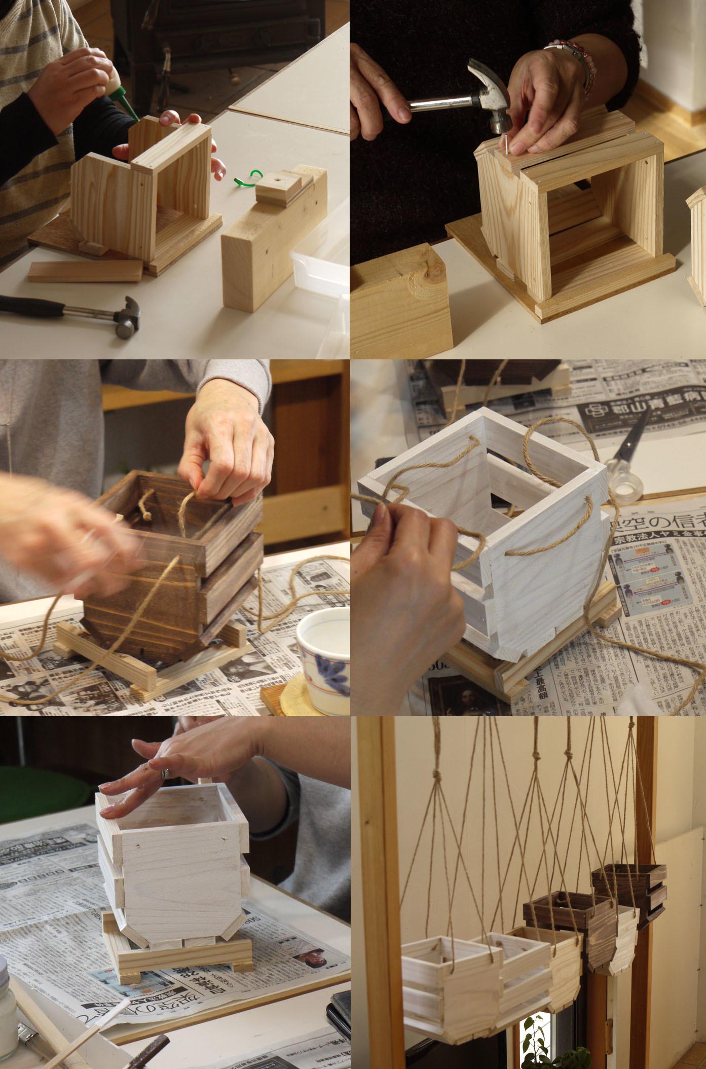 DIYワークショップ『ハンギングプランターボックスを作ろう』土曜日の部が終了しました。_c0334574_20052906.jpg