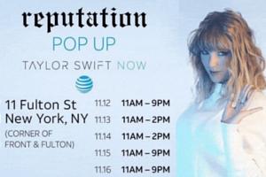 NYにオープンしたテイラー・スウィフトさんのポップアップ店 \'Reputation\' Pop-Up Taylor Swift Now_b0007805_23184126.jpg