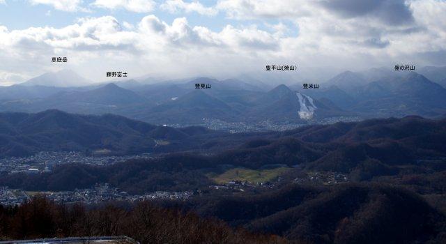 2017年11月17日(金)  藻岩山(標高531m)旭山公園コース_a0345007_13345526.jpg