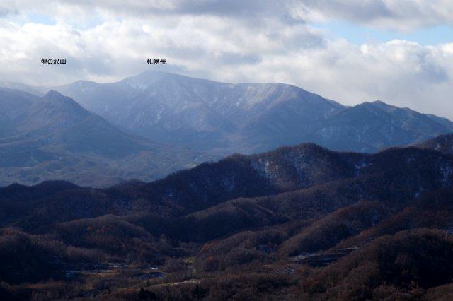 2017年11月17日(金)  藻岩山(標高531m)旭山公園コース_a0345007_13373984.jpg