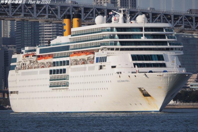 イタリアの客船「コスタネオロマンチカ」晴海ふ頭に入港_d0358854_22135979.jpg