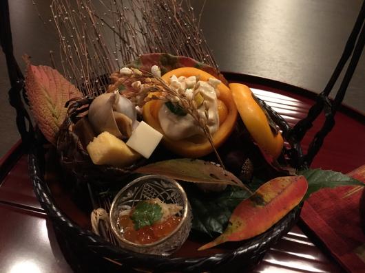 徳島 ホテルリッジの夕食@万里荘_e0139694_09054818.jpg