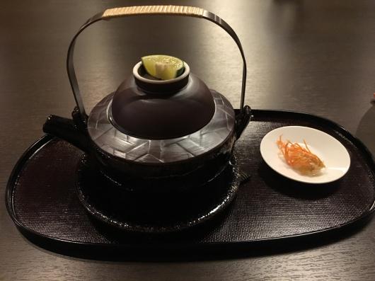徳島 ホテルリッジの夕食@万里荘_e0139694_09055054.jpg