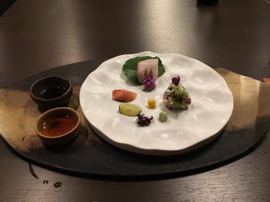 徳島 ホテルリッジの夕食@万里荘_e0139694_09055366.jpg