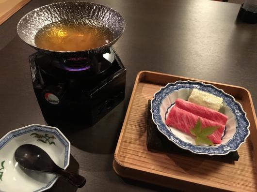 徳島 ホテルリッジの夕食@万里荘_e0139694_09150680.jpg