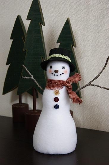 斉藤謠子先生の雪だるま 2_a0122205_13061796.jpg