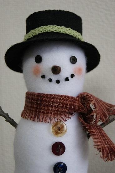 斉藤謠子先生の雪だるま 2_a0122205_13062350.jpg