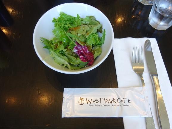 West Park Cafeでランチ_e0230011_17053278.jpg
