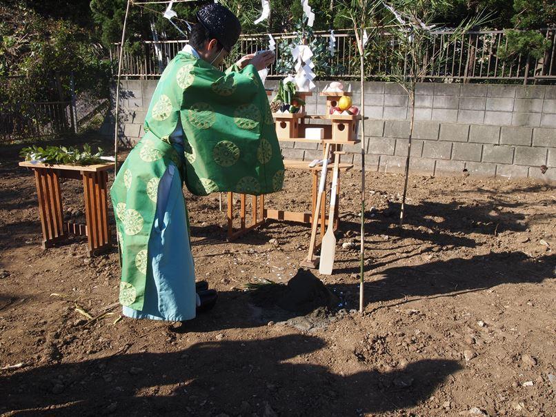 横浜市南区の家☆地鎮祭が執り行われました!_c0152341_10231981.jpg