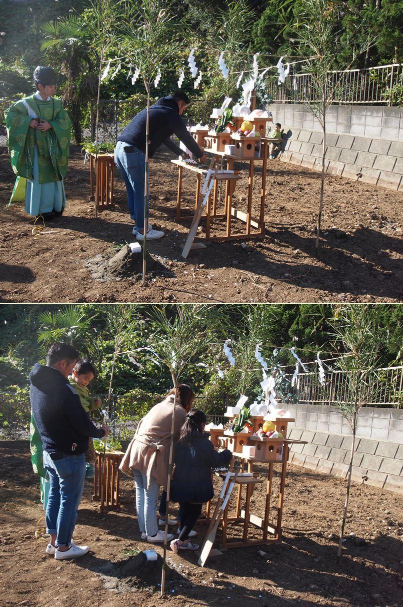 横浜市南区の家☆地鎮祭が執り行われました!_c0152341_10234610.jpg