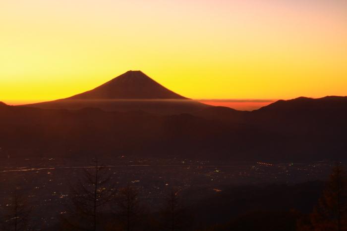 29年11月の富士(16)甘利山の富士_e0344396_16555400.jpg