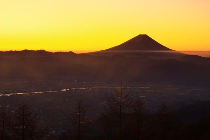 29年11月の富士(16)甘利山の富士_e0344396_16560303.jpg