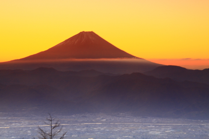 29年11月の富士(16)甘利山の富士_e0344396_16561874.jpg