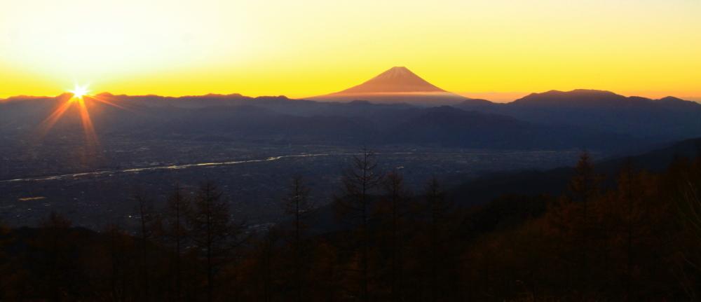 29年11月の富士(17)甘利山の富士_e0344396_23020523.jpg