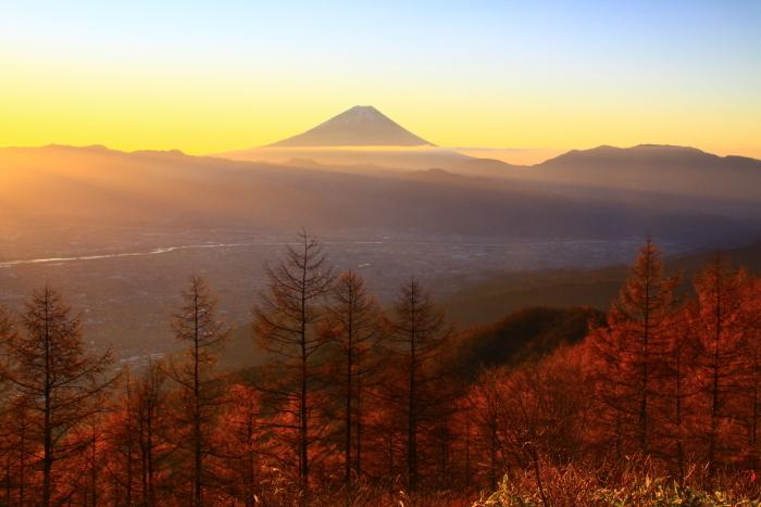 29年11月の富士(17)甘利山の富士_e0344396_23040267.jpg