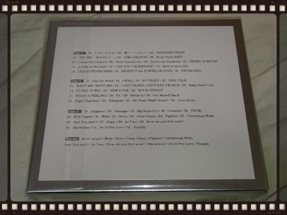 安室奈美恵 / Finally 初回盤BOXスリーブ仕様 Disc 3_b0042308_10475281.jpg