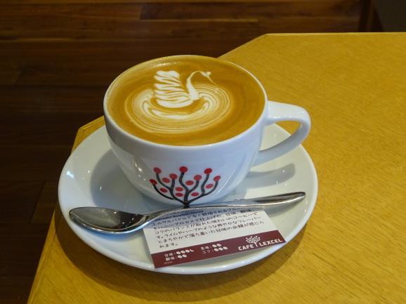 CAFE LEXCELさんでカプチーノ_e0230011_17031651.jpg
