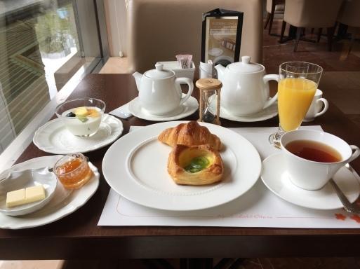 京都ホテルオークラ  ウェイクアップセット_c0223630_12435980.jpg