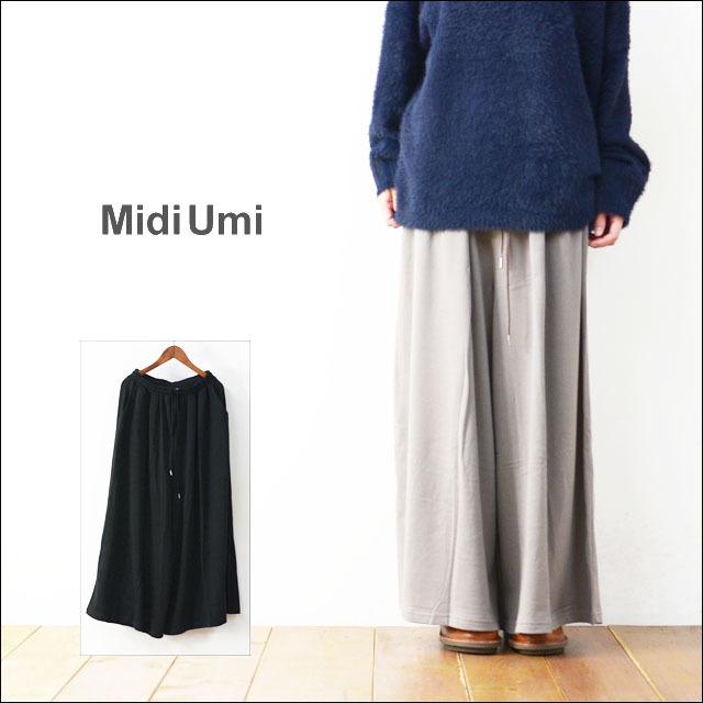MidiUmi [ミディウミ] WIDE EASY PTS [3-764312] ワイドイージーパンツ LADY\'S_f0051306_17055413.jpg
