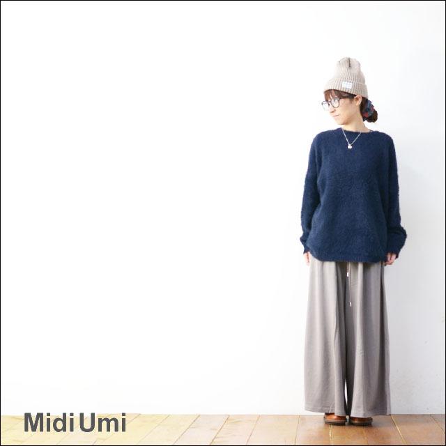 MidiUmi [ミディウミ] WIDE EASY PTS [3-764312] ワイドイージーパンツ LADY\'S_f0051306_17060034.jpg