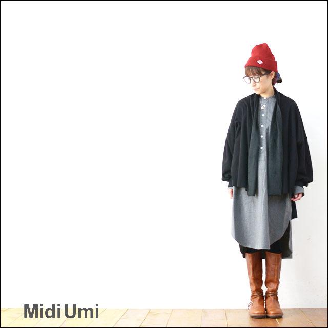 MidiUmi [ミディウミ] SHAGGY C/D [3-774241] カーディガン ガウン 羽織り アウター LADY\'S_f0051306_17110502.jpg