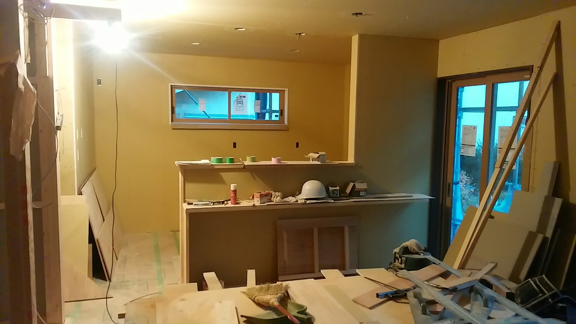 工事の進捗状況_e0180332_17120945.jpg