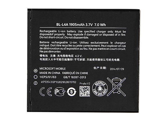 携帯電話・スマートフォン 交換用バッテリー 通販 NOKIA BL-L4A Lumia 535 RM-1090 RM1089 NOKIA_f0379733_15405710.jpg