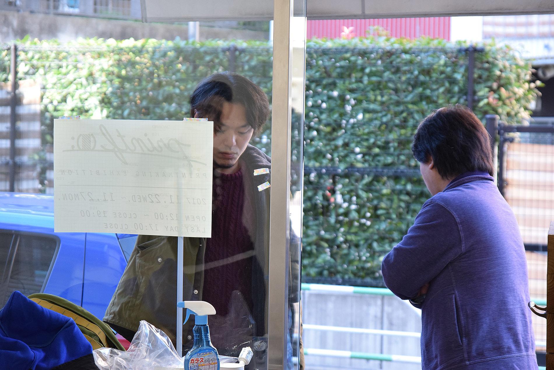 printf (); プリントエフ@搬入~初日_e0272050_17280560.jpg