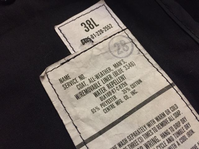11月25日(土)大阪店スーペリア入荷!#2 Militaryパート2編!ServiceShoes&Coat!!_c0078587_20572926.jpg