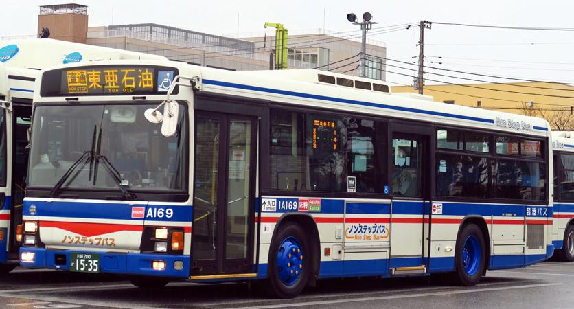 川崎鶴見臨港バス KL-LV280L1 : 研究所第二車庫