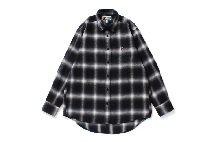 COLLEGE OMBRE CHECK SHIRT_a0174495_12315086.jpg