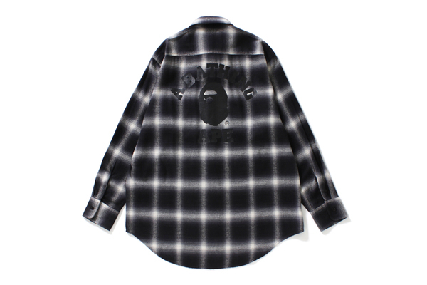 COLLEGE OMBRE CHECK SHIRT_a0174495_12320368.jpg